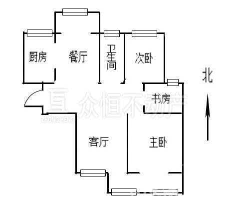 19919出售天盛花园3室2厅精装修