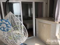 景鸿铭城 单身公寓 45平 精装 空,热,彩,冰,洗,床,家具 1550元
