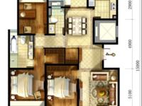 天鸿天际花园 140平 3室2厅2卫 高层简易装修 爱山学区 看房提前联系
