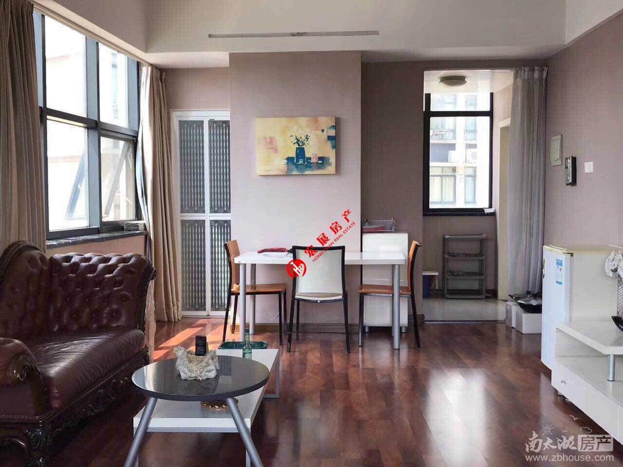 余家漾月漾苑4F单身公寓 精装修一室一厅