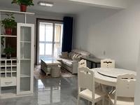 爱家华城 三室一厅 90平 精装 空,热,彩,冰,洗,床,家具 2800元