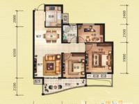 金色水岸.次顶楼.3室2厅1卫.全新毛坯.性价比高