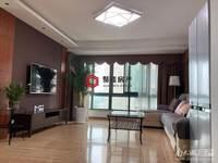 市中心.龙庭小区11楼148.9平三室2厅2卫精装满2年220万车位另售拎包入住