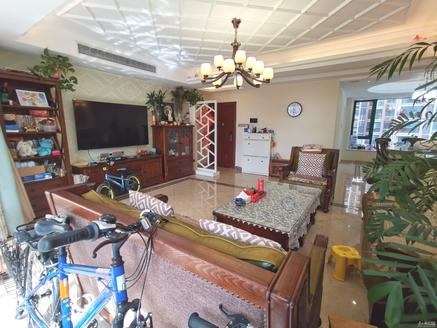 湖州市区 清河广场对面 爱家华城精装豪华别墅 带两个产权车位.