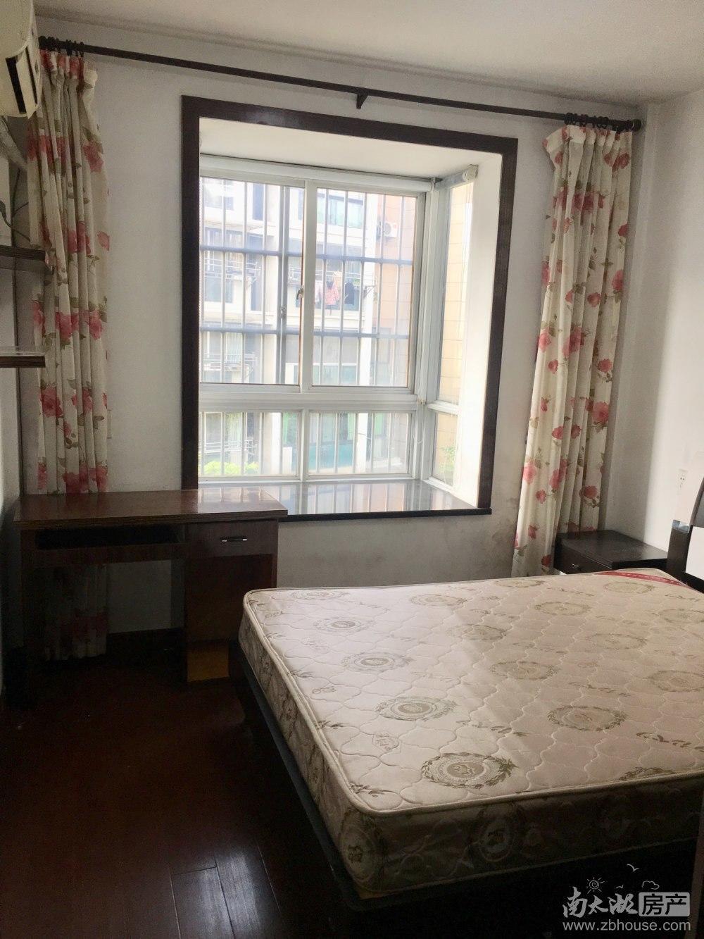 余家漾A区 二室二厅 80平 精装 空,热,彩,冰,洗,床,家具 2400元
