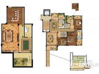 奥园壹号 全新毛坯 2楼带一楼花园和负一楼地下室 满2年 学籍在