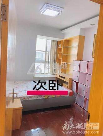 清丽家园90.38平方二室二厅中装
