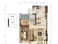 出售融创 太湖印2室2厅1卫75平米86万住宅