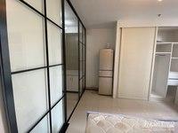 爱家华城单身公寓,朝南精装,一室一厅一卫,家具家电齐全