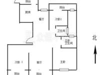 龙溪翡翠 22楼141.4平方 毛坯236.8万