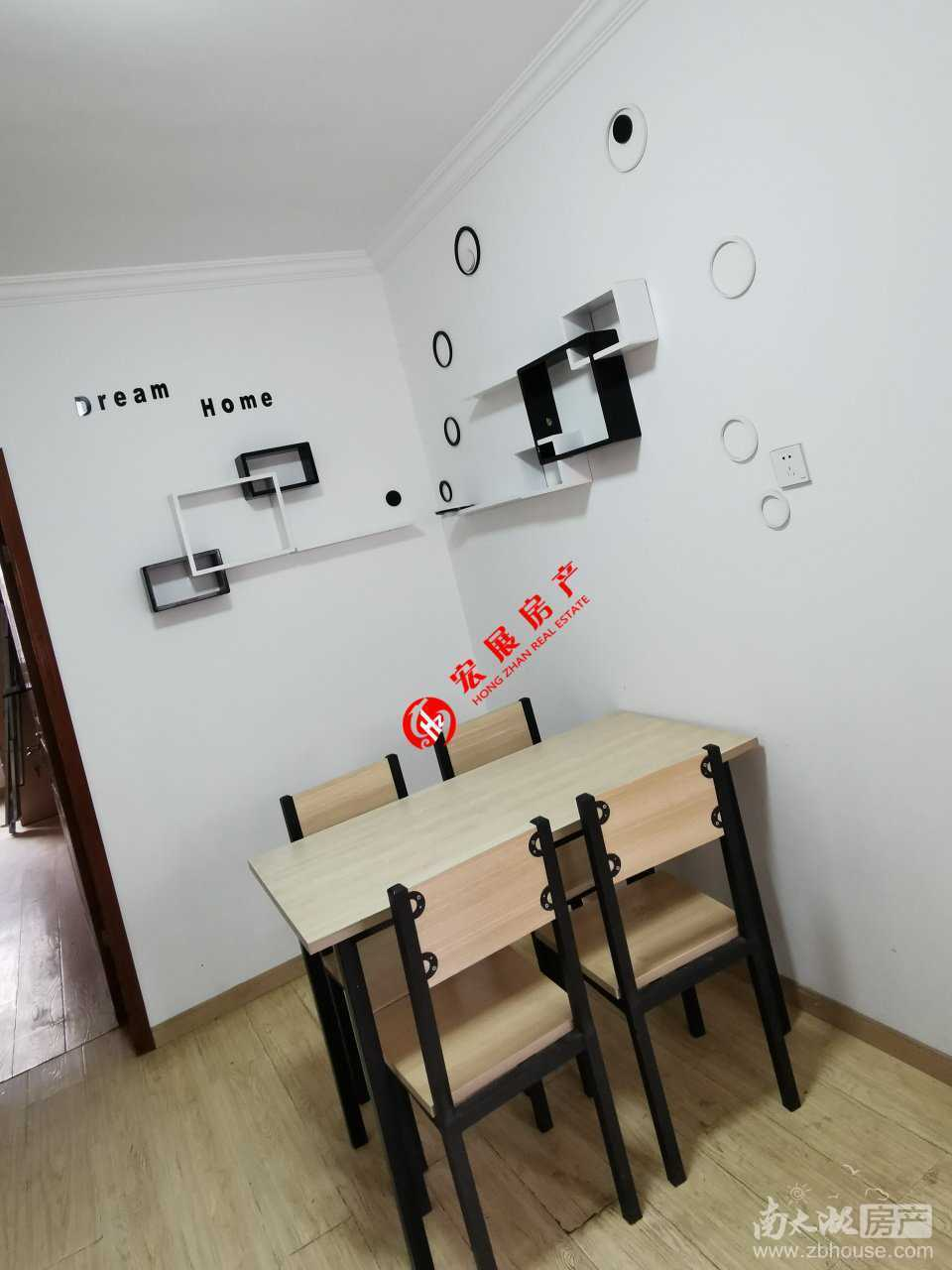 南白鱼潭两室一厅一厨,良装,家具家电齐