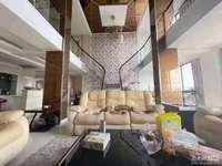 华辰尊园 209平顶跃精装 品牌家电 超大镂空客厅 实际面积可达300平多