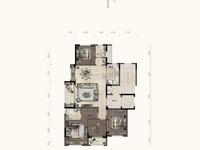 大家云锦洋房4楼,141.4方,四房两厅两卫,户型正气,带车位320万