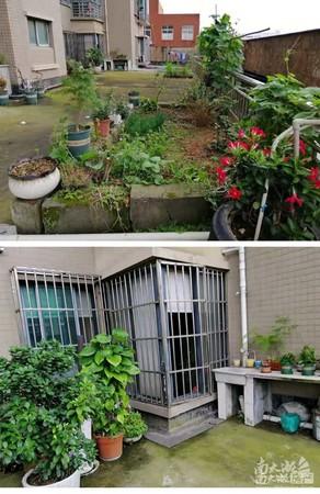 天盛花园 三室两厅 带130平露台 无个税 学位都在