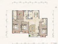 富力御西湖洋房精装大平层169 ,4室2厅3卫双学位房出售