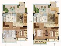 富力御西湖上叠4室2厅3卫 带大露台 房东包二税出售