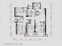 樾宸府出售:全新毛坯,4室2厅2卫,南太湖新区全新居住地。