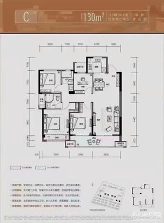融创樾宸府出售:全新毛坯,130平方,4室2厅2卫,交通便利,繁华地带。