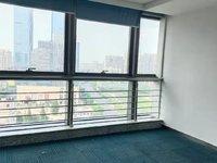 有钥匙出租金瑞大厦办公室精装修带隔断带家具带空调价格实惠220平1.9元每平每天
