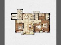中央公园出售:全新毛坯,四开间朝南,四室二厅二卫,面积:139.7 。