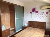 日月城 二室一厅 65平 良装 空调2,热,彩,冰,洗,床,家具 1500元