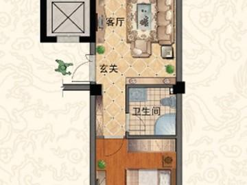 G 一室两厅一卫