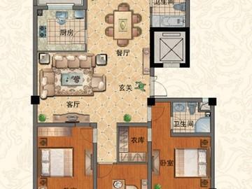 H 三室两厅两卫