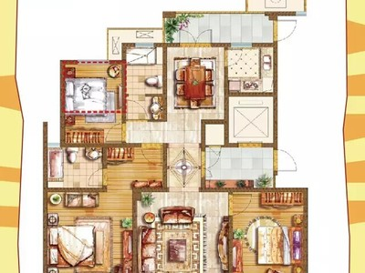 湖东府 大平层 四室两厅 满两年 车位另售