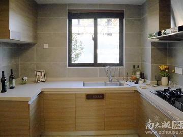 125方样板间客厅-厨房