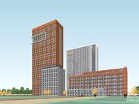 健康城桃源居洋房5 6楼,95方,三室二厅,报价123.8万,未满两年