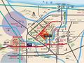 太阳城·天成大厦交通图