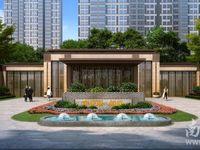 奥克斯朗庭20楼101平三室2厅2卫毛坯142万车位另售16万看房方便户型好
