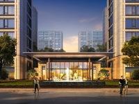 开发商绿城 物业绿城 户型方正 南北通透 采光充足 宽敞大气的会客厅