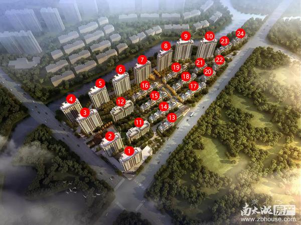 同建大城首府花园洋房1楼86平毛胚 103万有固定车位出租