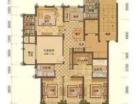 大港御景新城 4室2厅2卫 中间楼层 南北通透 西边套