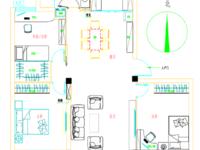 爱山小学开建,富丽学区房3室2厅1卫98.5平米