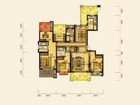 仁皇山五中学区,翰林世家8楼边套,176方,5房2厅3卫,南北露台,280万