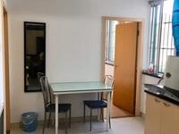 2806 南园小区5楼20平一室 共厨卫 全新简装空调热水器家具600底价有钥匙