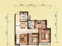 金色水岸 3室2厅1卫 全新毛坯 三开间朝南 位置佳 景观房