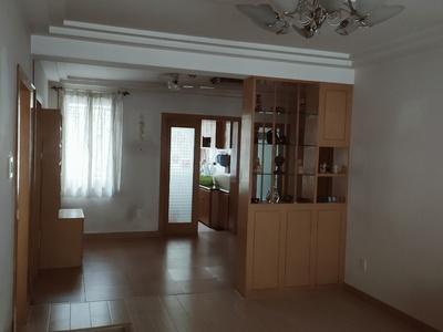 碧潮苑小区3楼,116平方,三室二厅一卫,精装,车库16平方,二年外,有照片