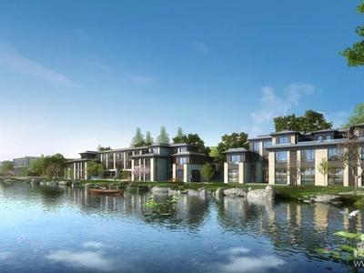 南浔 金象湖公园 湖景别墅 南浔高端富人区 送花园地下室