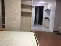 景鸿铭城中间楼层,精装单身公寓,一室一卫,