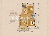 鸿地凰庭 2室2厅 普通装修 带超大储藏室25平