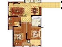国贸仁皇 稀缺次顶楼 3室2厅2卫 全新毛坯 位置佳 西边套