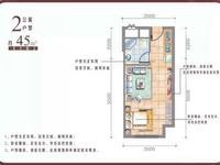 东部新城东方花园,1室1厅1卫,朝南毛呸,总价低,