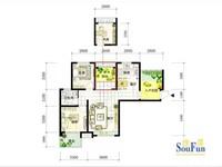 出售首创悦府88方户型,精装修,3室2厅1卫,带一个地下产权车位共152万住宅
