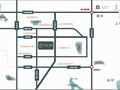 蓝城·尊园交通图