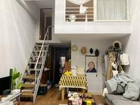 1882出售明都北楼单身公寓2楼loft1室1厅33平朝西36万 8月满两年