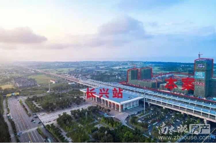 中建投·悦湖名城实景图