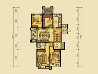 翰林世家21楼,面积131方 ,实际使用150方,四房两厅两卫,带车位230万